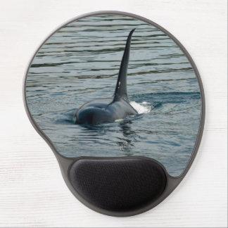 Orca on the hunt gel mousepad