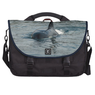 Orca on the hunt laptop bags