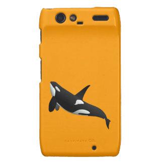 Orca, orca del Orcinus Droid RAZR Fundas