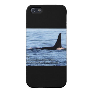 Orca Orca residente meridional del asesino Whale- iPhone 5 Cobertura