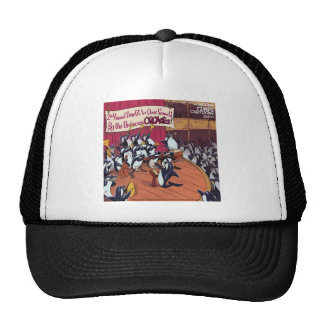 Orca Orchestra Funny Mesh Hat