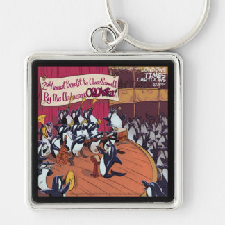 Orca Orchestra Funny Keychain