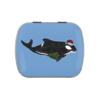 Orca Papá Noel Frascos De Caramelos