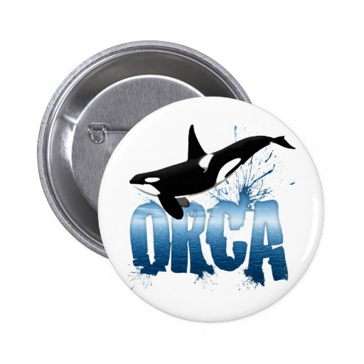 ORCA PIN REDONDO 5 CM