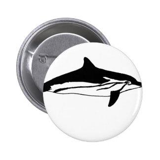 ORCA PIN REDONDO DE 2 PULGADAS
