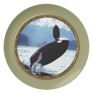 Orca Plato De Cena