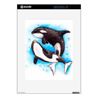 orca play decals for the iPad