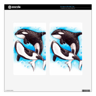 orca play kindle fire decals