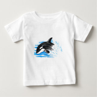 Orca Playing Baby T-Shirt