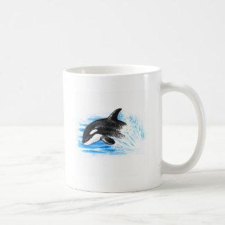 Orca Playing Coffee Mug