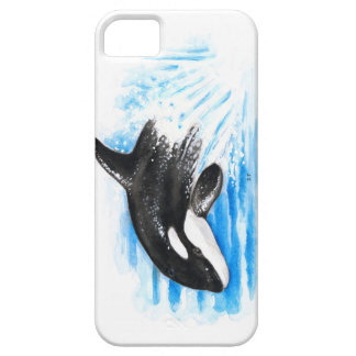 Orca Playing iPhone SE/5/5s Case