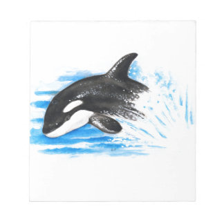 Orca Playing Notepad