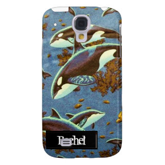 Orca Pod iPhone3G Samsung Galaxy S4 Cover