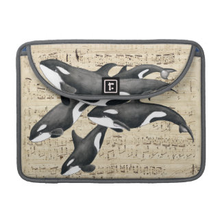 Orca Pod Music Sleeve For MacBook Pro