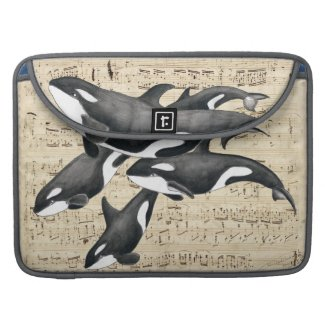 Orca Pod Music Sleeve For MacBooks