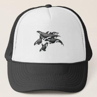 Orca Pod Trucker Hat