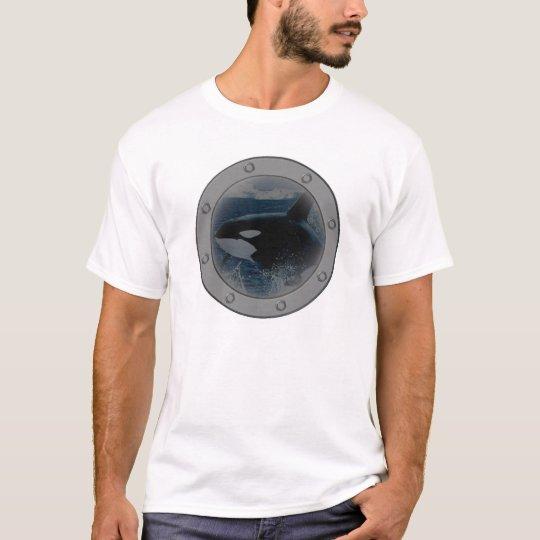 Orca Porthole. T-Shirt