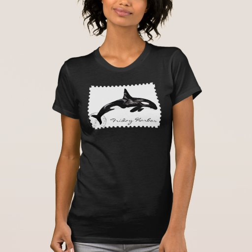 Orca Postage Stamp T Shirt