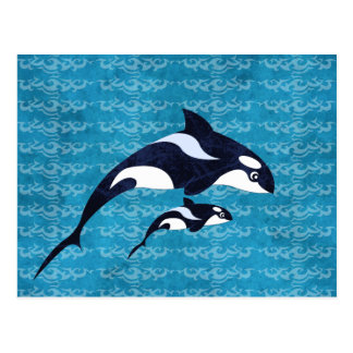 Orca Postcards