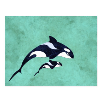 Orca Post Cards