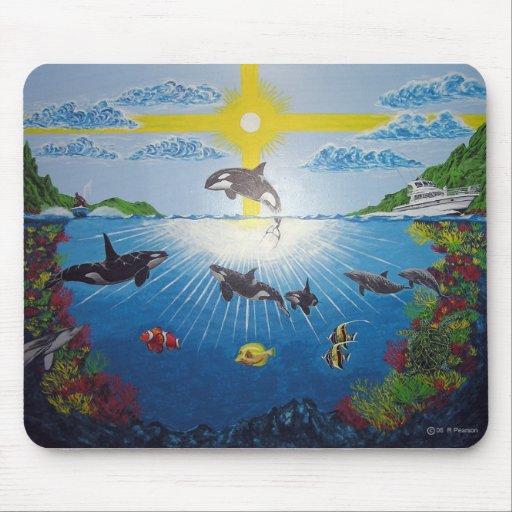 Orca Reef Mousepad
