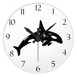Orca Reloj Redondo Grande