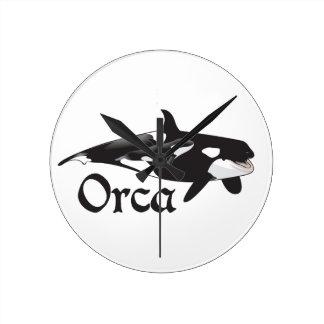 Orca Reloj Redondo Mediano