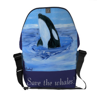 Orca Rickshaw Messenger Bag