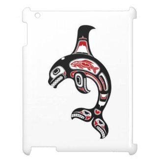 Orca roja y negra del alcohol del Haida