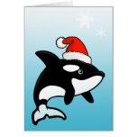 Orca Santa Felicitación