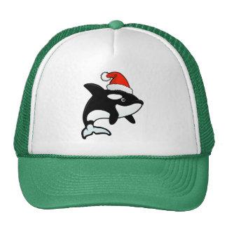 Orca Santa Trucker Hats