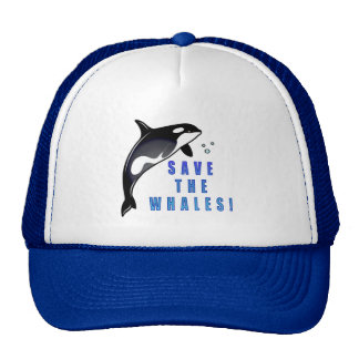 Orca: Save the Whales! Mesh Hat
