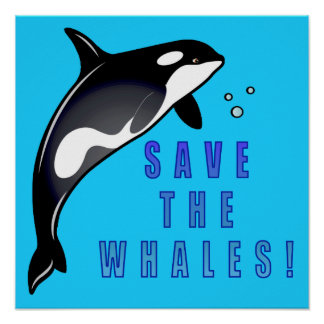 Orca: Save the Whales! Poster