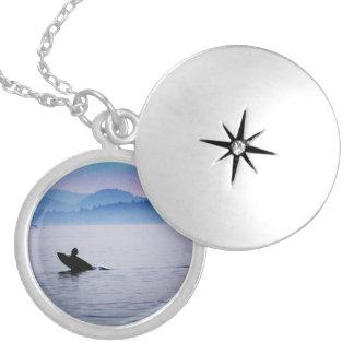 Orca Sea Round Necklace