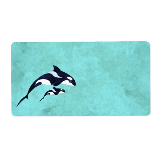 Orca Shipping Labels