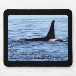 Orca;Southern Resident Killer Whale-L28 Orca Mouse Pad