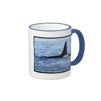 Orca;Southern Resident Killer Whale-L28 Orca Ringer Mug