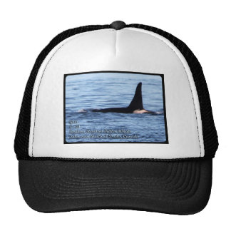 Orca;Southern Resident Killer Whale-L28 Orca Trucker Hat