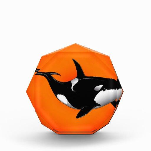 ORCA SUN SETTER ACRYLIC AWARD