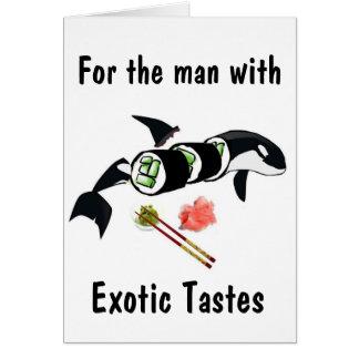 Orca Sushi Card