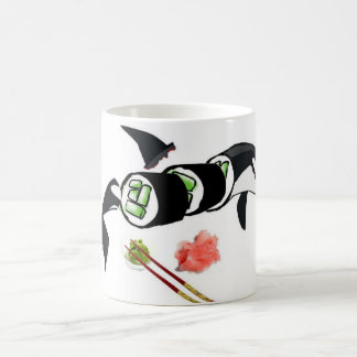 Orca Sushi Mugs