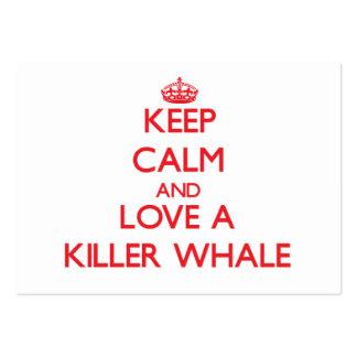Orca Tarjetas De Visita Grandes