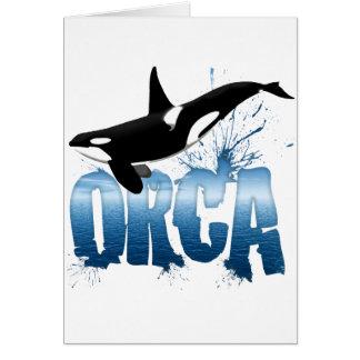 Orca Tarjetón