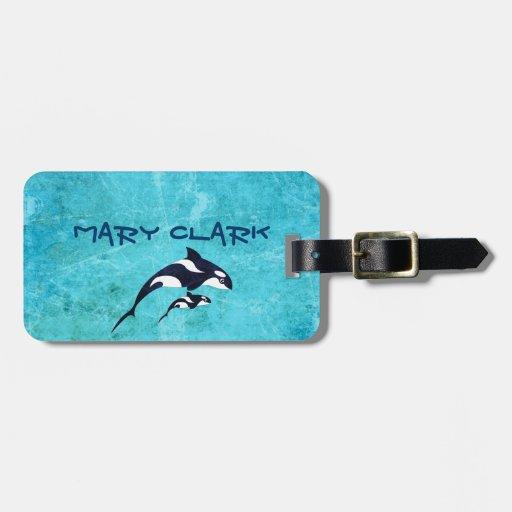 Orca Travel Bag Tag