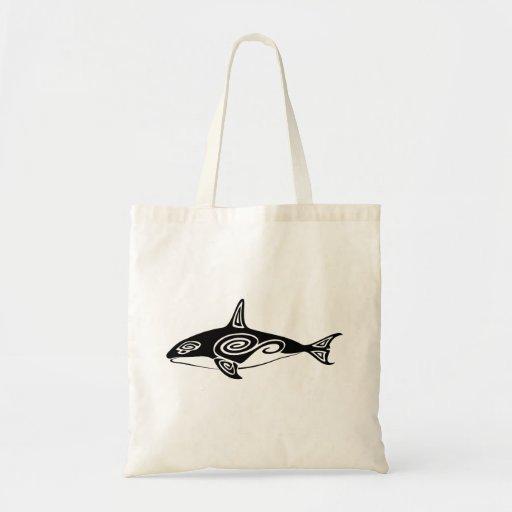 Orca tribal bolsas