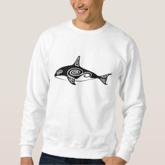 Orca tribal suéter