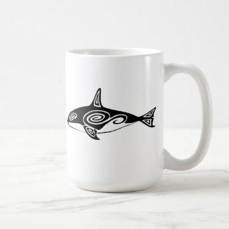 Orca tribal taza