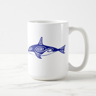 Orca tribal taza clásica