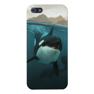 Orca underwater iPhone 5 cover