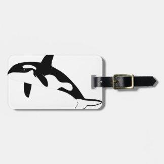 orca wal dolphin delphin schwertwal whale etiqueta para maleta